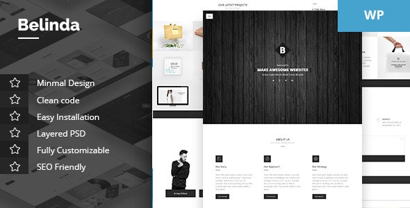 Belinda - Agency & Portfolio Theme - Portfolio Creative