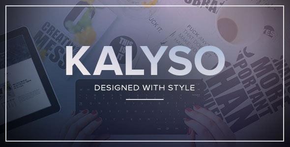 Kalyso - Multi-Purpose Muse Template - Creative Muse Templates