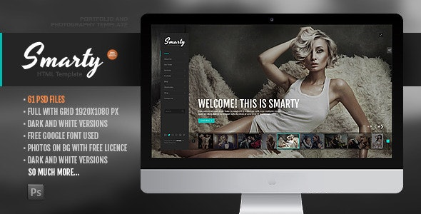 Smarty - Creative Agency &  Portfolio Template with RTL Version - Portfolio Creative
