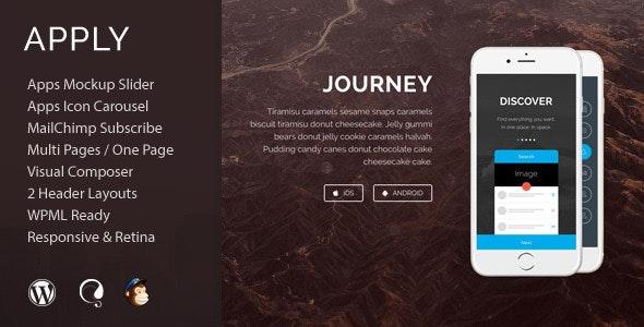 Apply - App Agency WordPress Theme - Software Technology