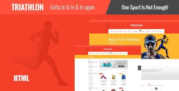 Triathlon - Responsive HTML Template