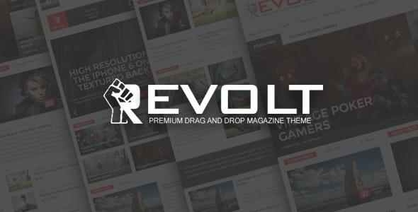Revolt - Multipurpose WordPress Magazine Theme - News / Editorial Blog / Magazine