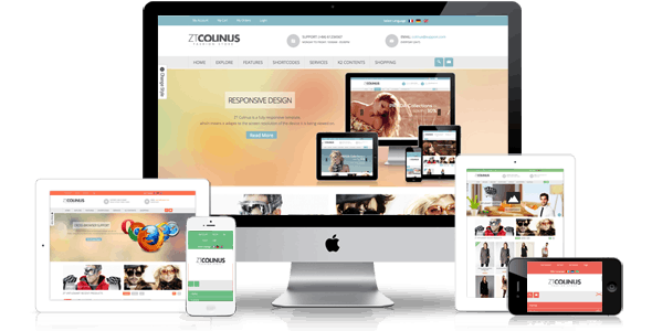 Colinus Multi Purpose VirtueMart Template - Joomla CMS Themes