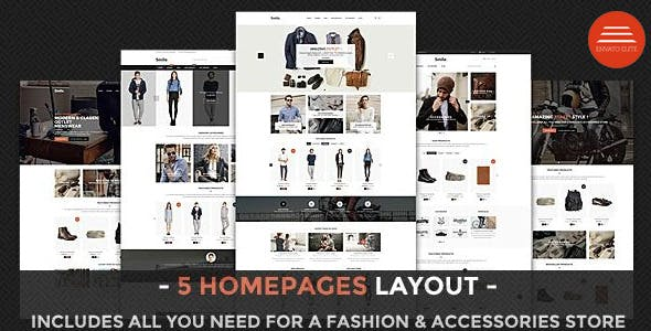 Smile - HTML E-commerce Template