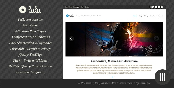 Lulu - Responsive WordPress Theme - Business Corporate