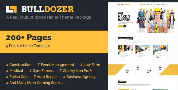Bulldozer - Mega Package Multipurpose Template - Business Corporate
