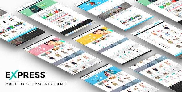 Express - Multipurpose Responsive Magento Theme - Shopping Magento