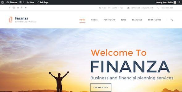 Stock Market WordPress Themes from ThemeForest