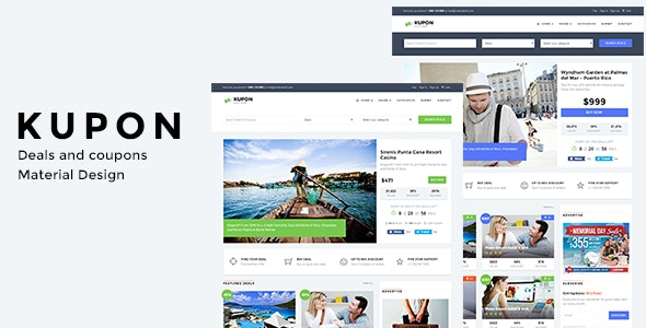 WordPress Coupon Theme, Daily Deals, Group Buying