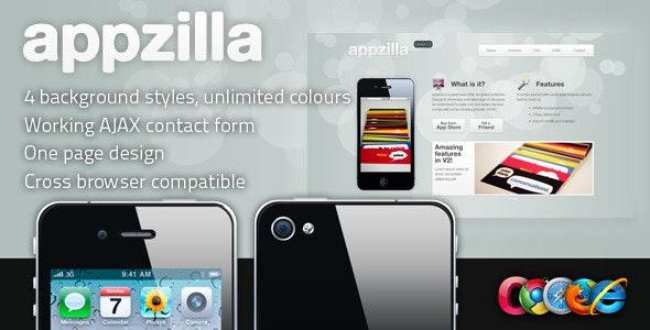 Appzilla - App/Portfolio theme (4 skins) - Creative Site Templates
