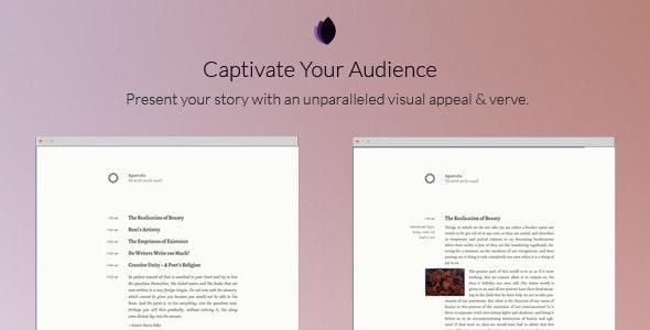 Agantuka - A Tumblr Theme for Writers - Blog Tumblr