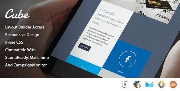 Cube - Multi-Purpose Email Template