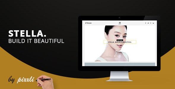 STELLA - Creative Portfolio Agency Template - Creative Muse Templates