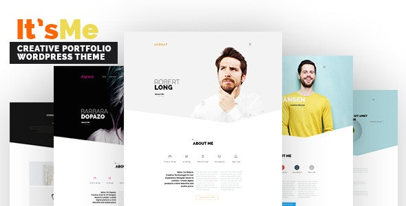 It's Me - Creative Portfolio WordPress Theme - Portfolio Creative