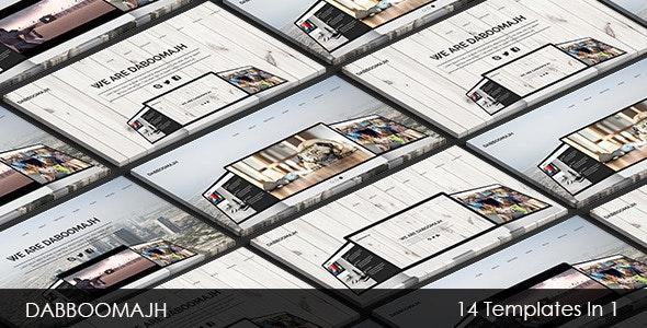 Dabboomajh - Multi-purpose Muse Template - Corporate Muse Templates