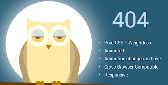 Hover Effects HTML Website Template from ThemeForest