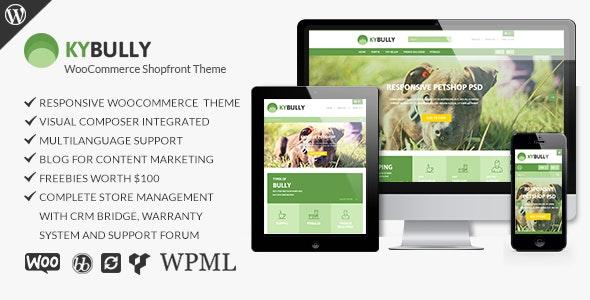 Kybully - Responsive WooCommerce Shopfront Theme - WooCommerce eCommerce