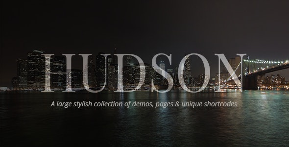 Hudson - Stylish Business Theme - Creative WordPress