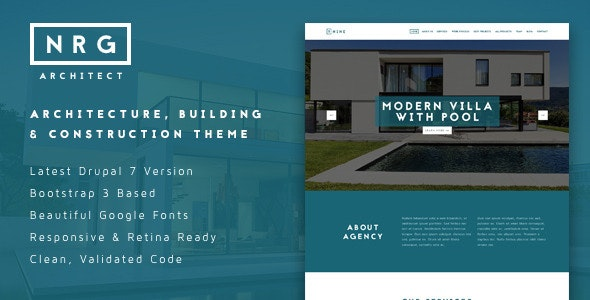 NRGarchitect - Powerful Architecture Theme - Business Corporate