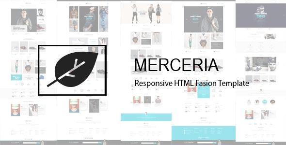 Merceria - Fashion Store HTML Template - Fashion Retail