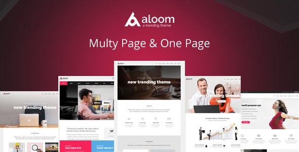Aloom - Responsive MultiPurpose Drupal 7 Theme