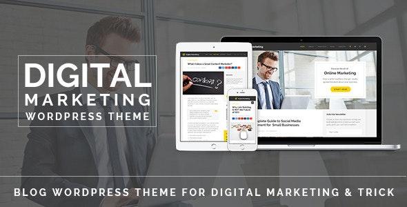 Digital Marketing - Blog WordPress Theme - Personal Blog / Magazine