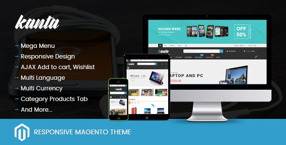 SNS Kanta - Responsive Magento Theme - Magento eCommerce