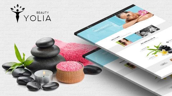 Yolia - Beauty HTML Template  - Health & Beauty Retail