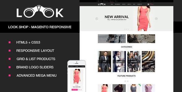 Look Fashion - Magento Responsive Theme - Fashion Magento