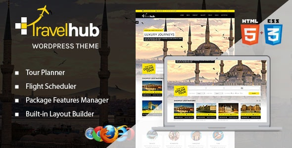 Travelhub - WordPress Travel Theme for Agencies - Travel Retail
