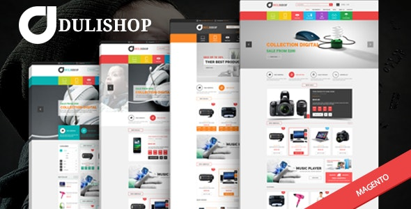 Dulishop - Responsive Magento HiTech Theme - Technology Magento