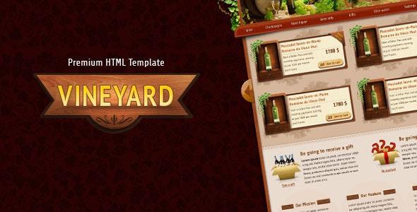 Vineyard - HTML Responsive Template - Shopping Retail