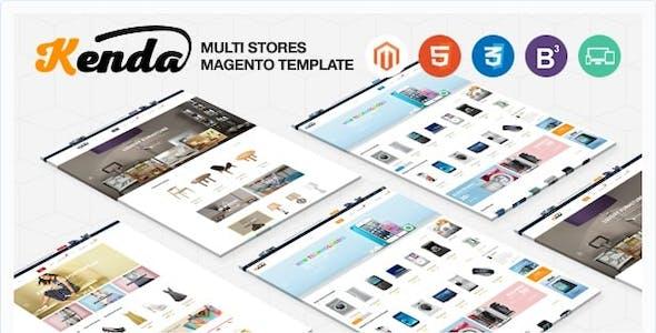 Kenda | Large Store Responsive Magento Theme