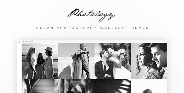 Photology - Clean Photography Gallery Themes - Photography Creative