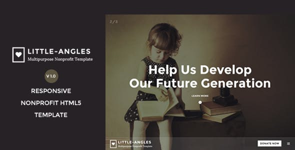 Little Angles - Multipurpose Non Profilt Template by yobithemes
