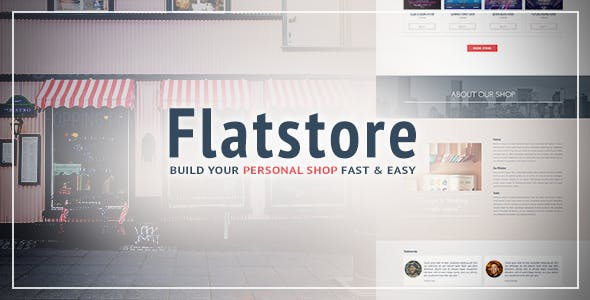 Download Flatstore - eCommerce Muse Template for Online Shop