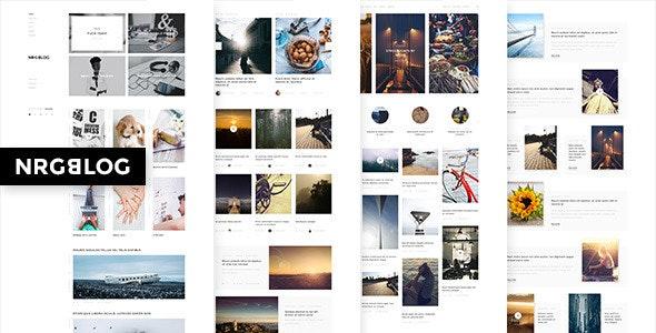 NRGblog - Mega Creative Blog and Portfolio Theme - Portfolio Creative