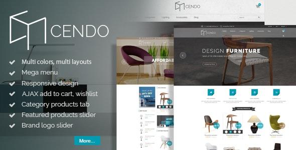 Cendo - Responsive Prestashop Furniture Theme - Shopping PrestaShop