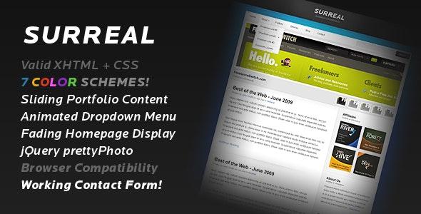 Surreal - Business & Portfolio - Creative Site Templates