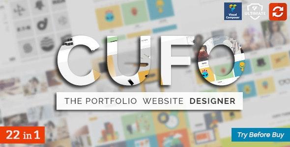 Cufo - Responsive Wordpress Portfolio Theme - Portfolio Creative