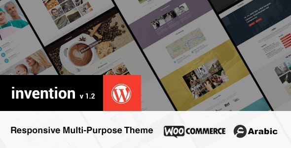 Invention Responsive Multi-Purpose WordPress Theme - Corporate WordPress
