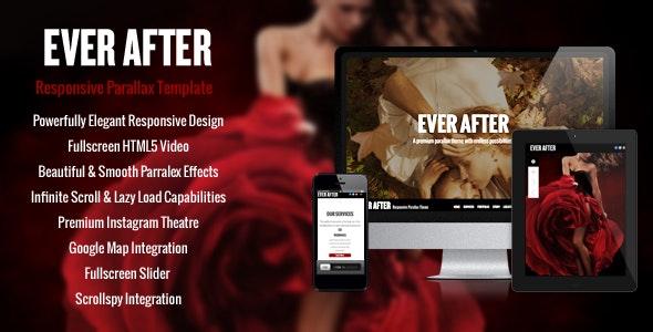 Ever After - OnePage Parallax Concrete5 Theme - Concrete5 CMS Themes