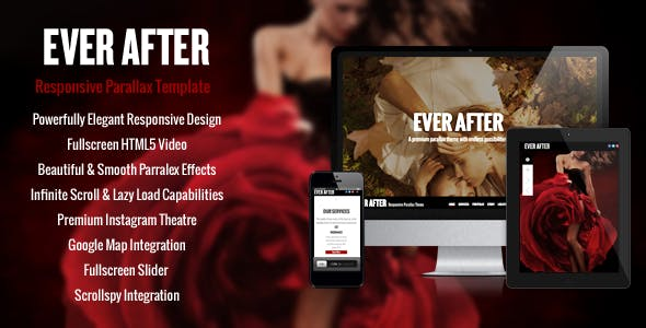 Download Ever After - OnePage Parallax Concrete5 Theme