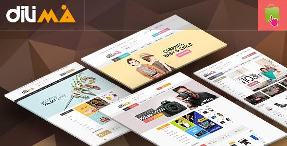 Dilima - Mega Store Responsive Prestashop Theme - Shopping PrestaShop