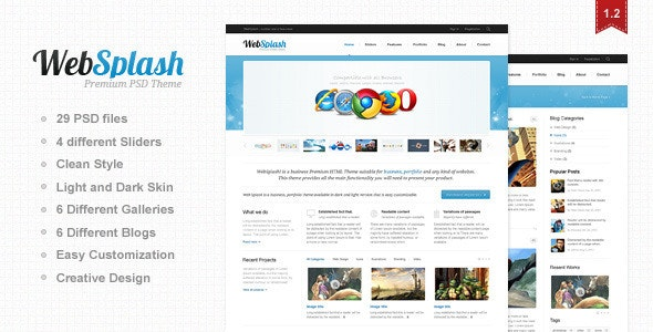 Web Splash - Creative Photoshop