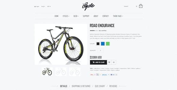 CityCycle - Bike Store Responsive Shopify Theme