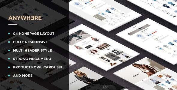 Leo Anywhere - Responsive Prestashop Theme - Shopping PrestaShop