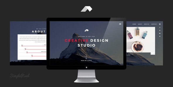 Nagi - Creative Coming Soon Template - Under Construction Specialty Pages