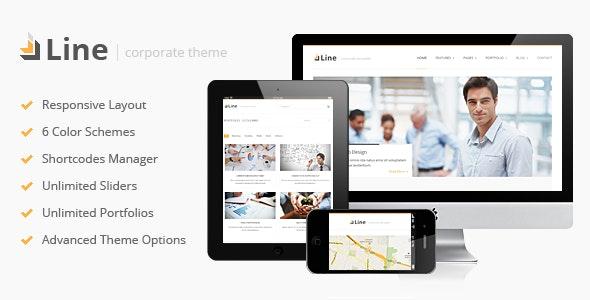 Line - Responsive Corporate WordPress Theme - Business Corporate