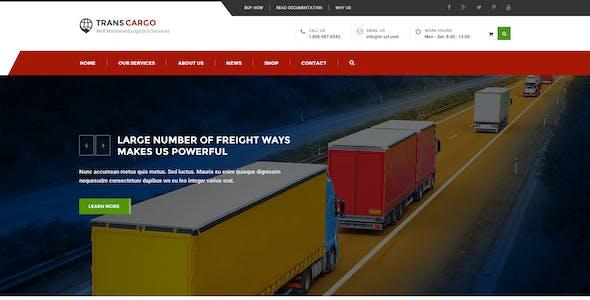 TransCargo - Transport & Logistics PSD Template